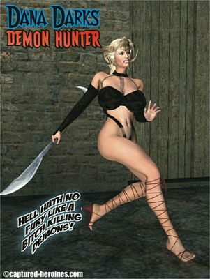 [Captured Heroines] Dana Darks - Demon Hunter [3D Porn Comic] evil