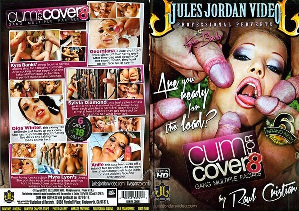Cum For Cover #8 (2012) [Jules Jordan Video] Kyra Banks