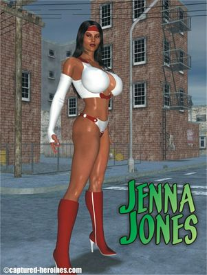 [Captured Heroines] Jenna Jones Part 1-3 [3D Porn Comic] alien