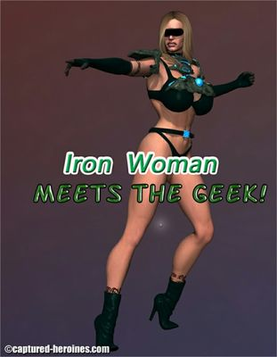 [Captured Heroines] Iron Woman Meets The Geek Part 1-3 [3D Porn Comic] rape