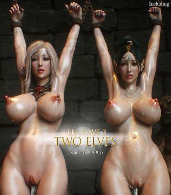 [Jared999D] Elf Slave Part 3 - Two Elves [3D Porn Comic] orcs