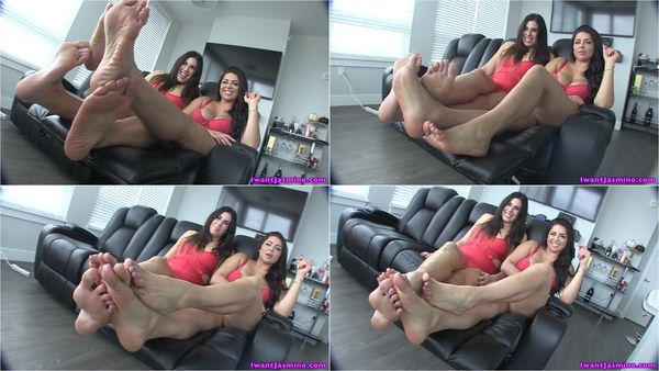 XXL Foot Buffet [GoddessJasmine] Jasmine Mendez (720p)