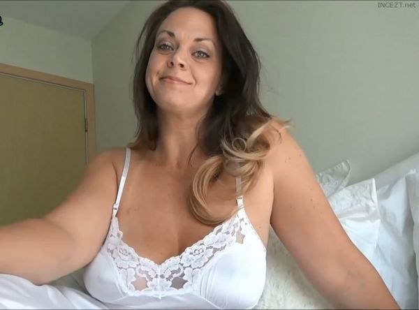 HER CLINGY WHITE SLIP BY DIANE ANDREWS TABOO MILF ROLE PLAY HD