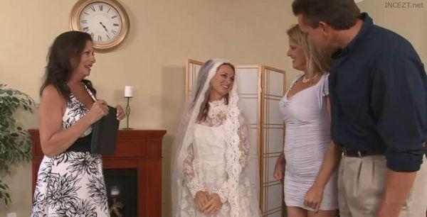 Bride Sucks Dads Cock for Practice HD