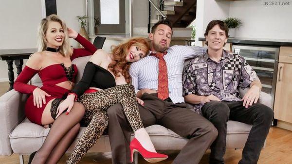 MARRIED WITH STEPCHILDREN – LAUREN PHILLIPS & ZOEY MONROE HD [Untouched 1080p]