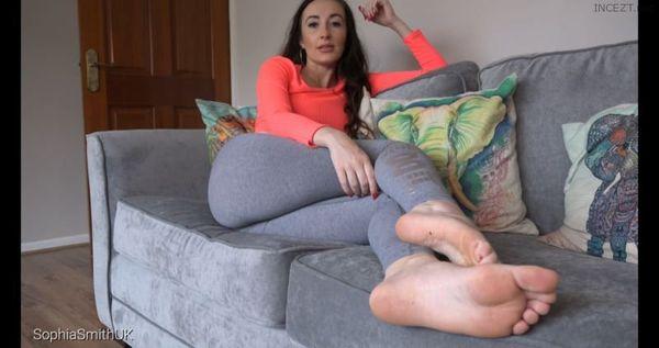 Bratty Sister Foot Humiliation 4K