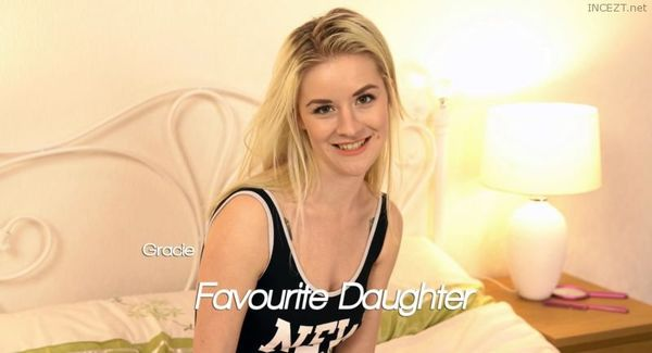 Sexy Blonde Daughter Gets Naked while Dad Wanks For Her 4K