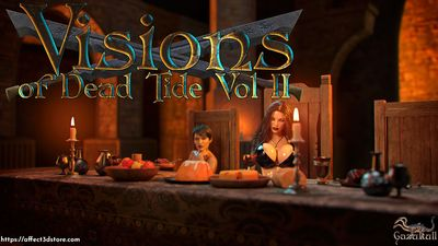 [Gazukull] Visions Of Dead Tide Part 2 [3D Porn Comic] double anal