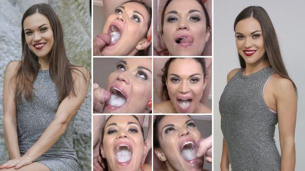 PremiumBukkake - Alyssa Reece - Small tits (3.83 GB)