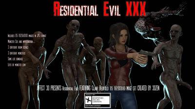 [3DZen] Residential Evil XXX [3D Porn Comic] horror