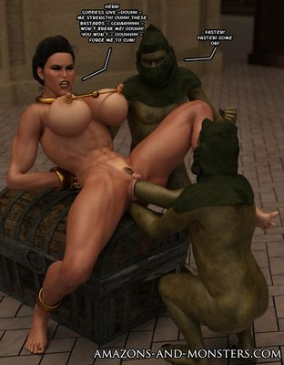 [Amazons-vs-Monsters] Amorgos Under Attack Part 1-11 [3D Porn Comic] fisting
