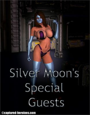 [Captured Heroines] Silver Moon's Special Guests Part 1-3 [3D Porn Comic] rape