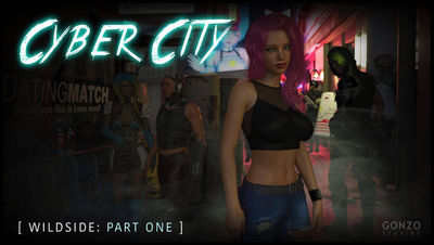 [Gonzo] Cyber City - Wildside Part 1 [3D Porn Comic] futanari