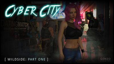 [Gonzo] Cyber City - Wildside Part 1 [3D Porn Comic] futanari