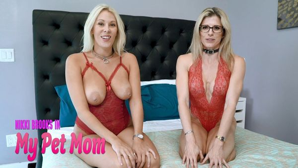 Nikki Brooks & Cory Chase in My Pet Mom HD 1080p [FULL C4S Version]