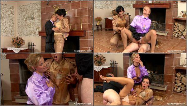 Pee Sex On A Bearskin Rug [PissingInAction] Luciana (306 MB)