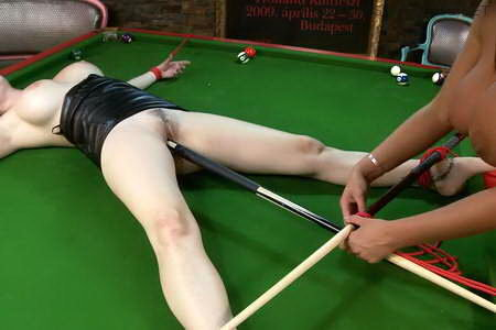 Domination in the pool hall!