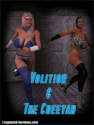 [Captured Heroines] Volition Vs The Cheetah Part 1-7 [3D Porn Comic] rape