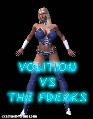 [Captured Heroines] Volition Vs The Freaks Part 1-6 [3D Porn Comic] rape