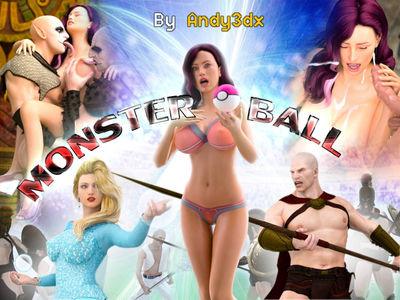 [Andy3DX] Monster Ball Part 1-3 [3D Porn Comic] octopus