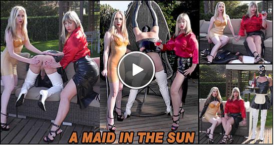 [26.03.19] A Maid In The Sun [TheEnglishMansion] Nina Birch (720p)