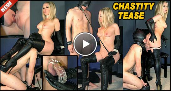 [24.06.19] Chastity Tease [TheEnglishMansion] Mistress Sidonia (720p)