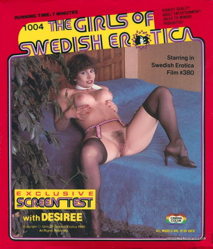 Swedish Erotica Miss Of Vintage 1