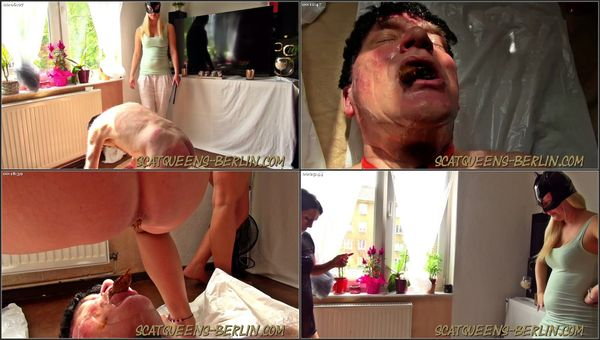 Slave Cunt Tortured And Shit Into Mouth Part 1-2 [Scatqueens-Berlin] Lady Domis (1080p)