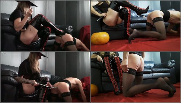 Pushes Her Boot Heel Into The Ass Of Slave [FetishManiaOrg] Miss Trudy (142 MB)
