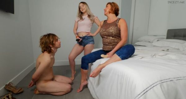 Punishment Fucked By Mom & Sister feat. Goddess Brianna & Kat Soles 4k