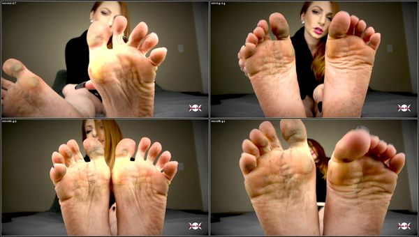 Weak For Dirty Feet [FetishManiaOrg] Olivia Rose (410 MB)