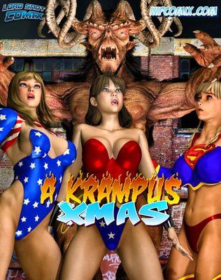 [LordSnot] A Krampus Xmas [3D Porn Comic] rape