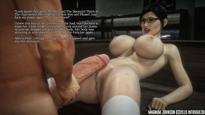 [Intrigue3D] Magnum Johnson Update [3D Porn Comic] futanari