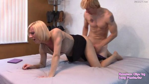 Mommy Gets Taboo Doggystyle Punishment From Son But Really Likes it and Manipulates the Situation – Brittany Lynn 1080 HD