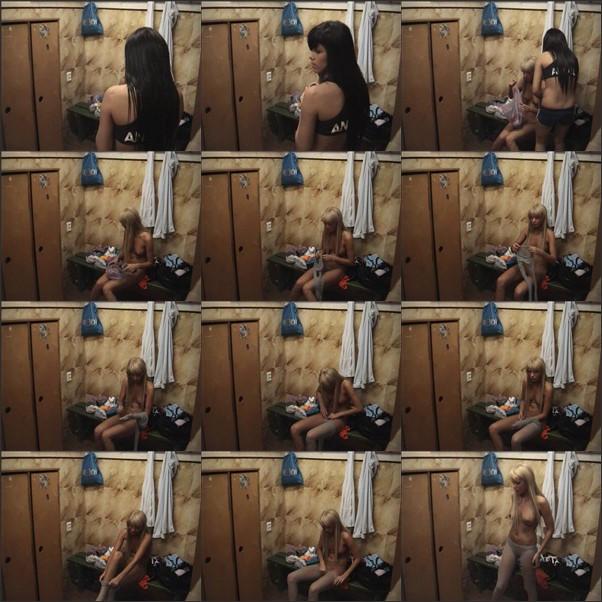 Video of girls on hien cameras