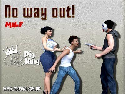 [PigKing] No Way Out Part 1-6 [3D Porn Comic] incest