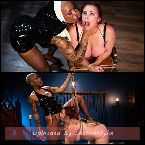 Lesbian Latex Blasphemy: Ashley Paige Whips the Sin Out Of Bella Rossi | HD 720p | Release Year: Nov 21, 2019