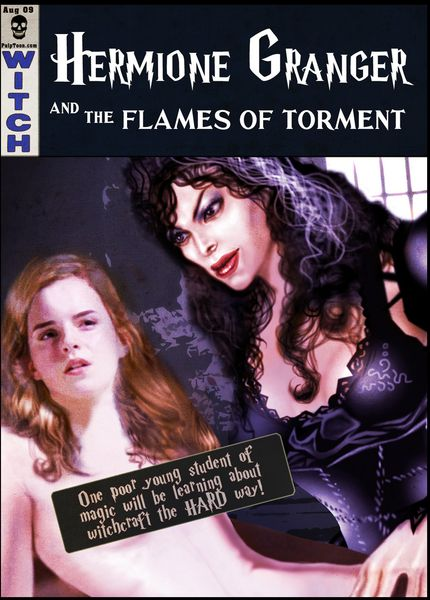 [Guro] [Bielegraphics] Hermione Granger and the Flames of Torment (Harry Potter) witch