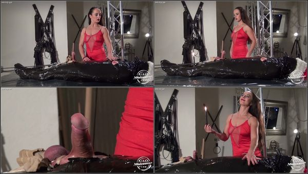 The Xmas Candle Slave [KinkyMistresses] Amalie Von Stein (456 MB)