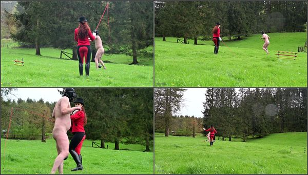 Ball Stretching Pony Jumping [FetishManiaOrg] Lady Renee (405 MB)