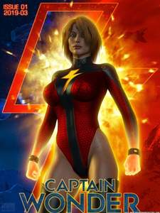 [DangerBabeCentral] Captain Wonder [3D Porn Comic] sci-fi