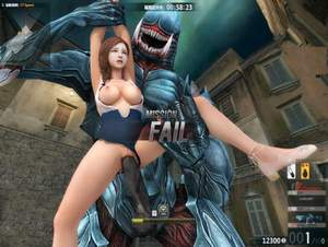 Art by Crossfire CSOL [3D Hentai Artwork] monster