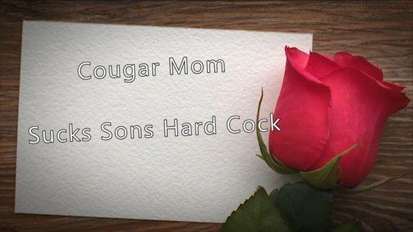 Cougar Mom Sucks Sons Hard Cock HD