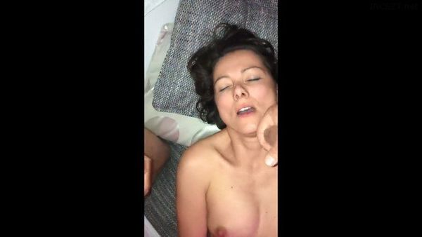 DRUNK MOM LETS SON AND HIS FRIEND CUM ON HER AFTER PARTY HD