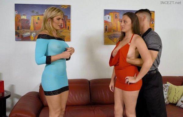 Seducing A Busty MILF and Hot Mom Melanie Hicks HD