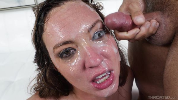 Submissive And Sloppy - Maddy Oreilly - Throated