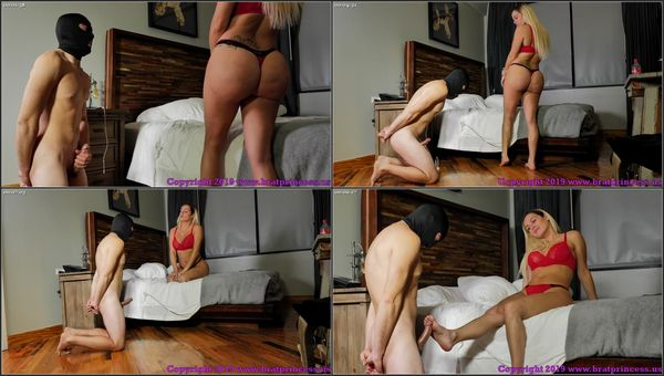 Released From Chastity For An Edging Game [BratPrincess] Goddess Becky (881 MB)