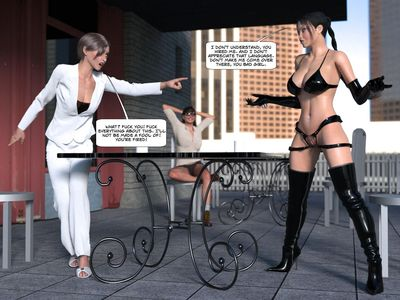 [GenYun] Hot Coffee - A Tantric Vengence Story [3D Porn Comic] boots