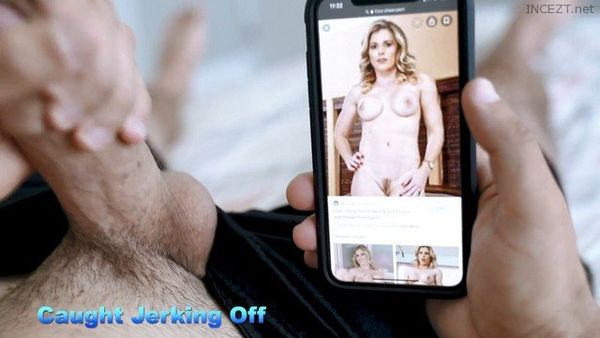 Mom Catches Me Jerking Off On Her Aand Takes Over – Cory Chase HD 1080p