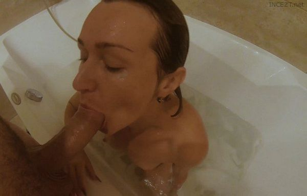 Horny Blonde Mom Fucks Ass and Mouth 4k